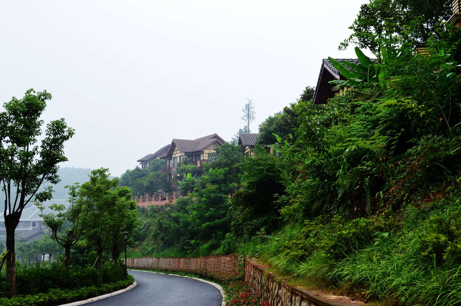 皖南川藏线起点----恩龙世界木屋村自驾游